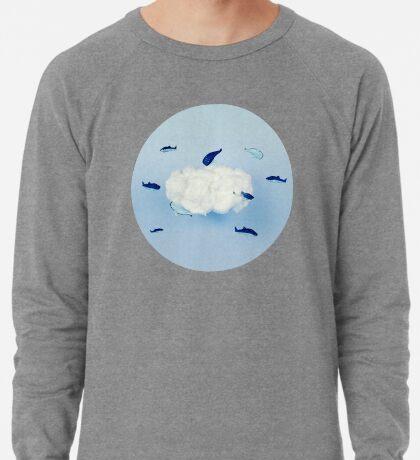 Wale um die Wolke Leichter Pullover
