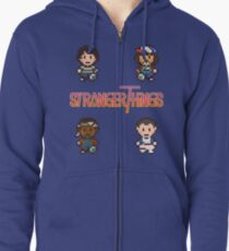 Earthbound x Stranger Things Zipped Hoodie