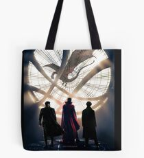 Benedict Cumberbatch 4 iconic characters by lichtblickpink Tote Bag