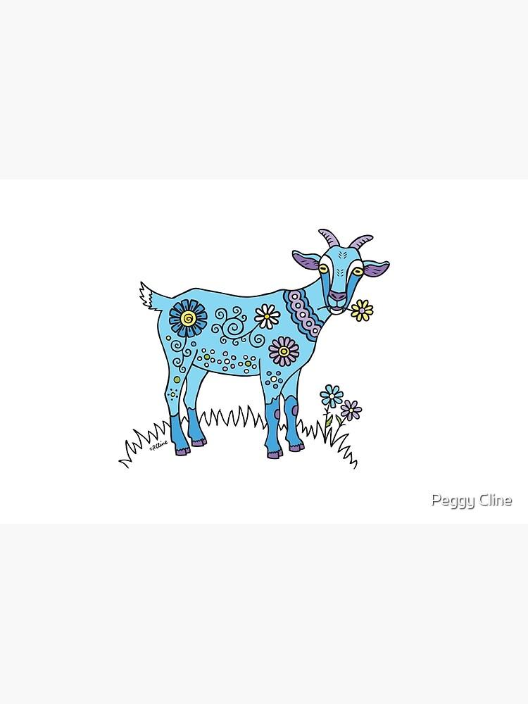 Cabra azul de PeggyCline