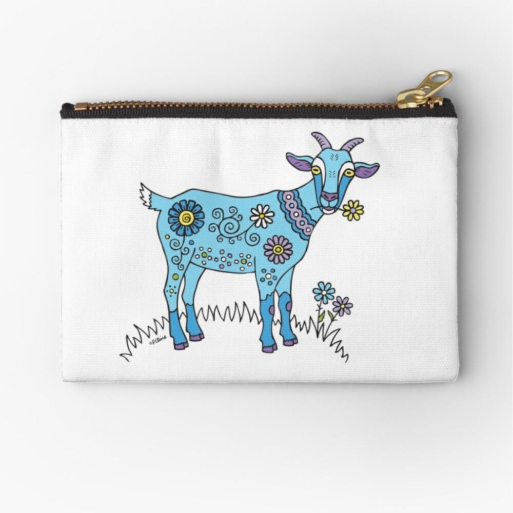 Cabra azul Bolsos de mano