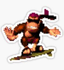 Funky Kong Sticker