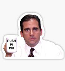 Rush pi phi Sticker