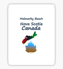 Melmerby Beach Nova Scotia Canada Sticker