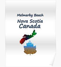Melmerby Beach Nova Scotia Canada Poster