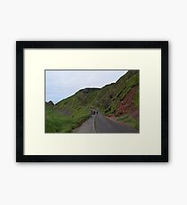 Giants Causeway Northern Ireland Framed Print