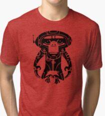 Black Space Monkeyz Graphic Tri-blend T-Shirt