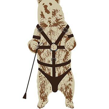 Bondage Bear by scoundrel
