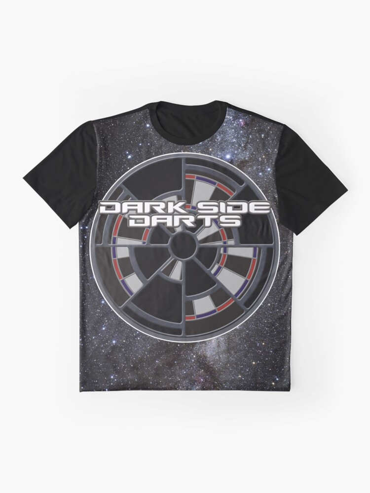 Alternate view of Dark Side Darts Graphic T-Shirt