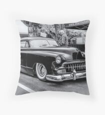 """Kustomized 1952 Chevy """"led sled"""" Throw Pillow"""