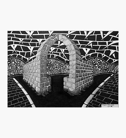 263 - STONE ARCH - DAVE EDWARDS - INK - 2017 Photographic Print