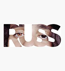Russ in Russ Photographic Print
