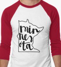 Minnesota Love Men's Baseball ¾ T-Shirt