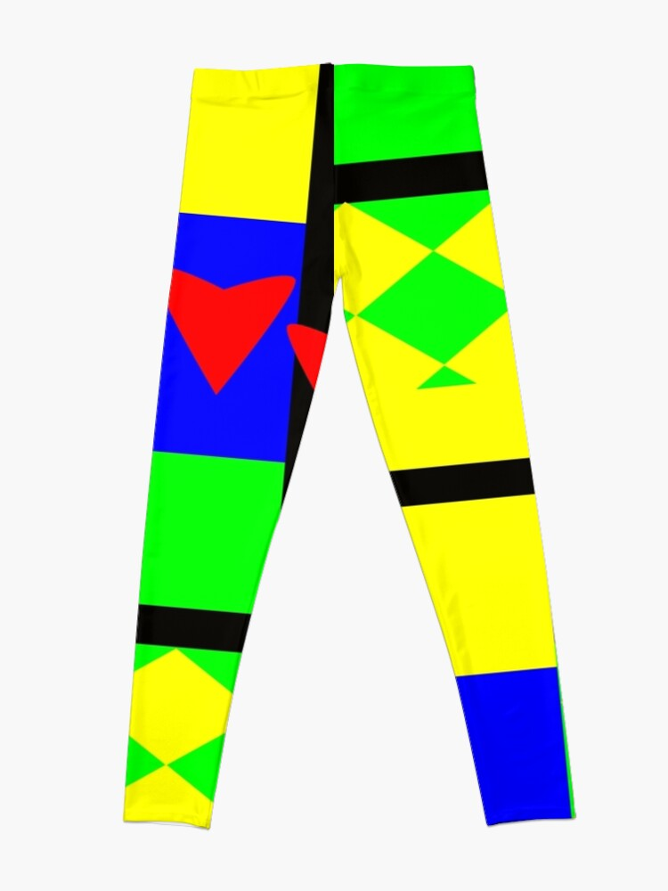Alternate view of Fun with Color by Julie Everhart Leggings