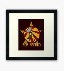 For Asgard! Framed Print