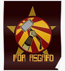 For Asgard! Poster