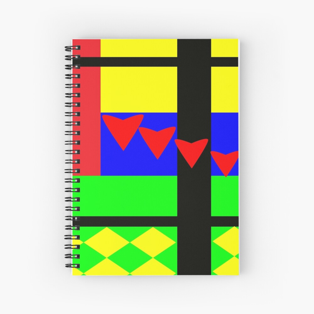 Fun with Color by Julie Everhart Spiral Notebook