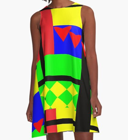 Fun with Color by Julie Everhart A-Line Dress