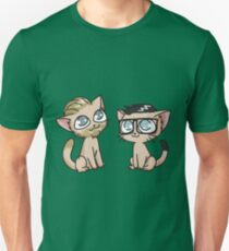 Youtuber Kittens: Rhett and Link Unisex T-Shirt