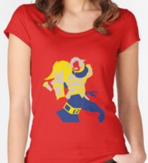 Uther Hearthsone Pop Style Women's Fitted Scoop T-Shirt