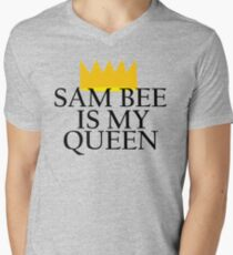 Samantha Bee is my queen Men's V-Neck T-Shirt