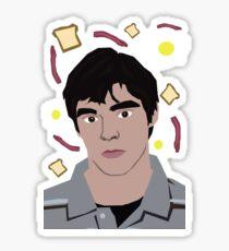 Walt Jr Loves Breakfast Sticker