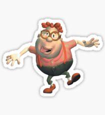 Jimmy Neutron- Carl Wheezer Sticker