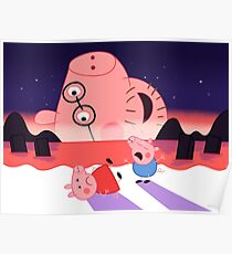 End of Peppa Poster