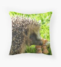 Thank You... You Saved My Life... - Hedgehog - NZ Throw Pillow