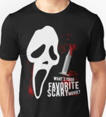 Scream - Favorite horror movie T-Shirt