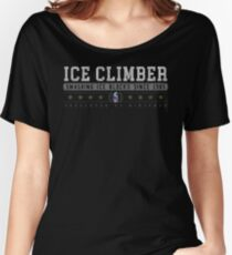 Ice Climber - Vintage - Black Women's Relaxed Fit T-Shirt