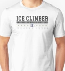 Ice Climber - Vintage - White T-Shirt