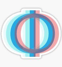 3D Phi Sticker