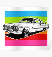 LOWRIDERS & CANDY PAINT Poster