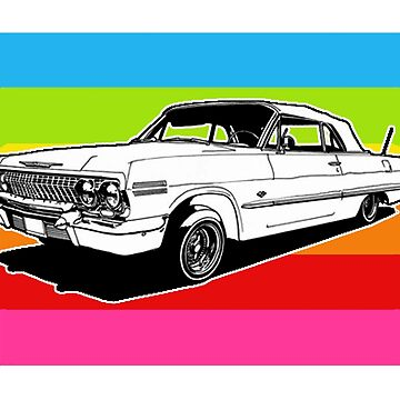 LOWRIDERS & CANDY PAINT by SOLSKETCHES