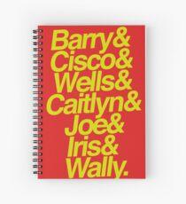 Cuaderno de espiral el flash&