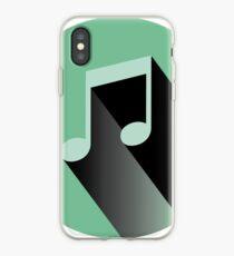 Vinilo o funda para iPhone Pegatina de nota musical