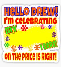 TV Game Show - TPIR (The Price Is...) I'm Celebrating My Sticker