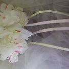 """gretta lenna"" wedding headpiece with streamers!  candace bridal collectables by candace lauer"