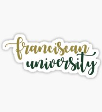 Franciscan University Sticker