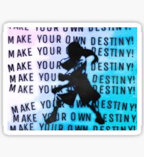 Neji Hyuga Destiny Sticker