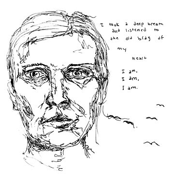 Sylvia Plath by emmapinezich