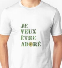 The Stone Roses – I Wanna Be Adored (Je Veux Être Adoré) Unisex T-Shirt