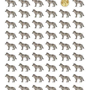 65 Wolf Moon by lightningmoth