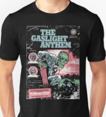 Gaslight Anthem with Chuck Ragan and Sharks Tour Tee Unisex T-Shirt
