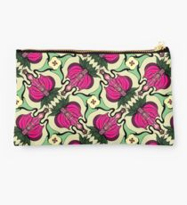 Exotic flowers pattern Studio Pouch