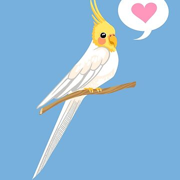 Chirpy Cockatiel by blackunicorn