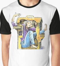 Girl inside a dollhouse Graphic T-Shirt