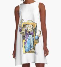 Girl inside a dollhouse A-Line Dress