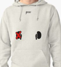 Kidney Graphic Apparel and Misc. (yono) Pullover Hoodie